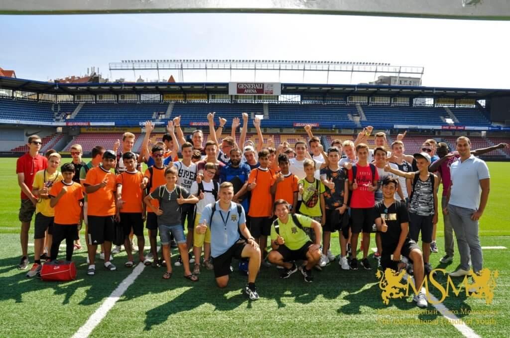Летний лагерь в праге футбол английский