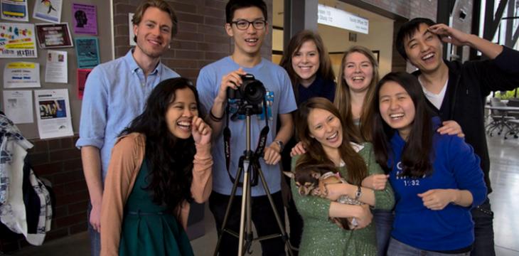 студенты фотографируют msmstudy