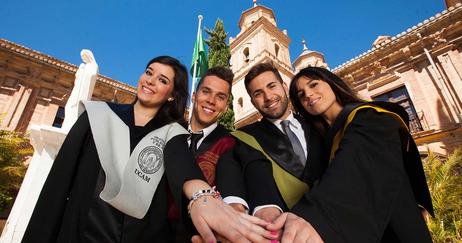 общее фото студентов в испании msmstudy