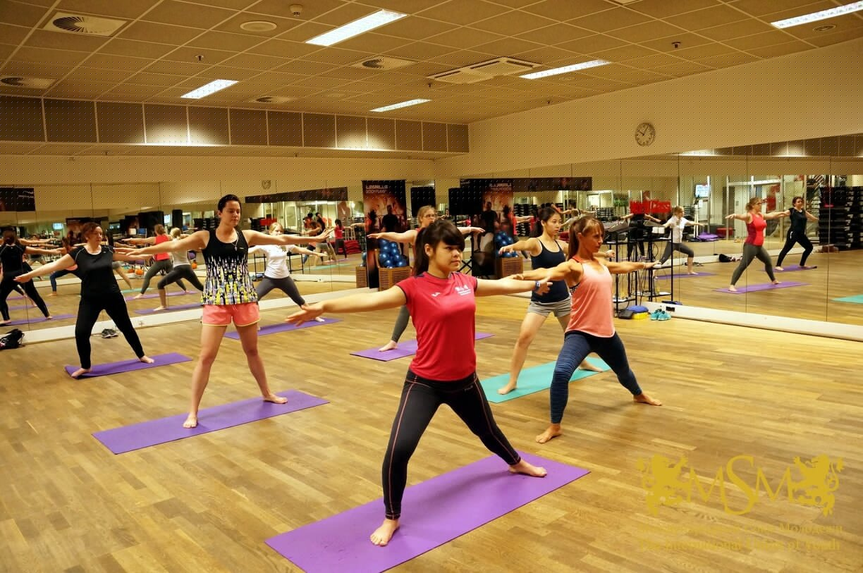 девушки на гимнастике msmstudy