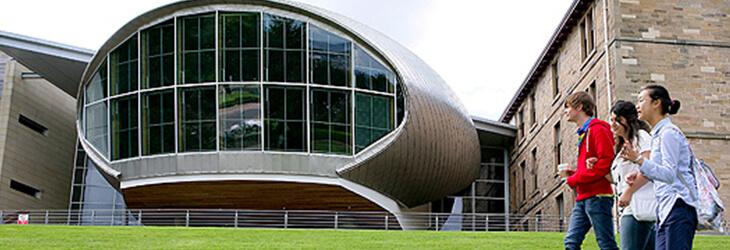 футуристичное учебное здание msmstudy