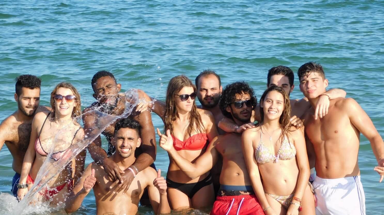 общее фото студентов на море msmstudy