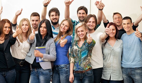 общее фото ребят радуются msmstudy