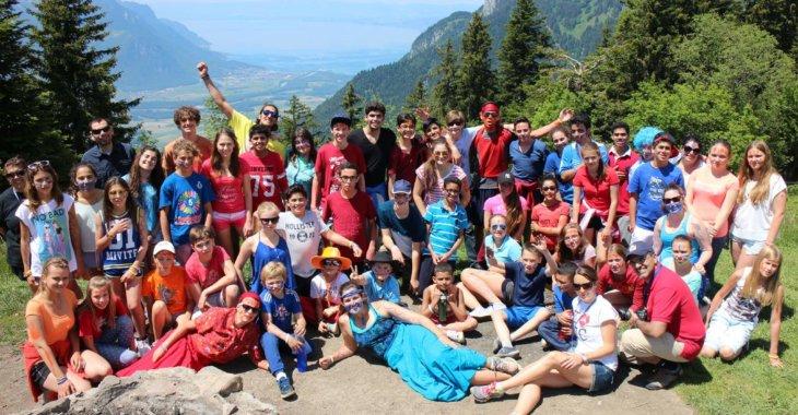 общее фото дети в горах msmstudy
