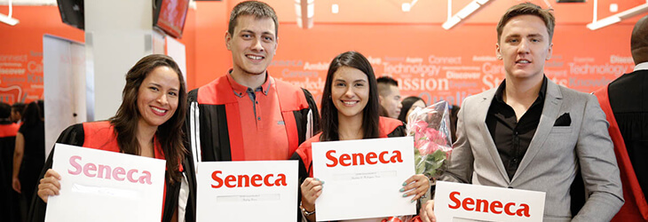 Студенты с сертификатами сенека колледж msmstudy