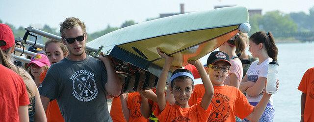 Ребята с лодками msmstudy