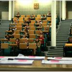 студенты на лекции msmstudy