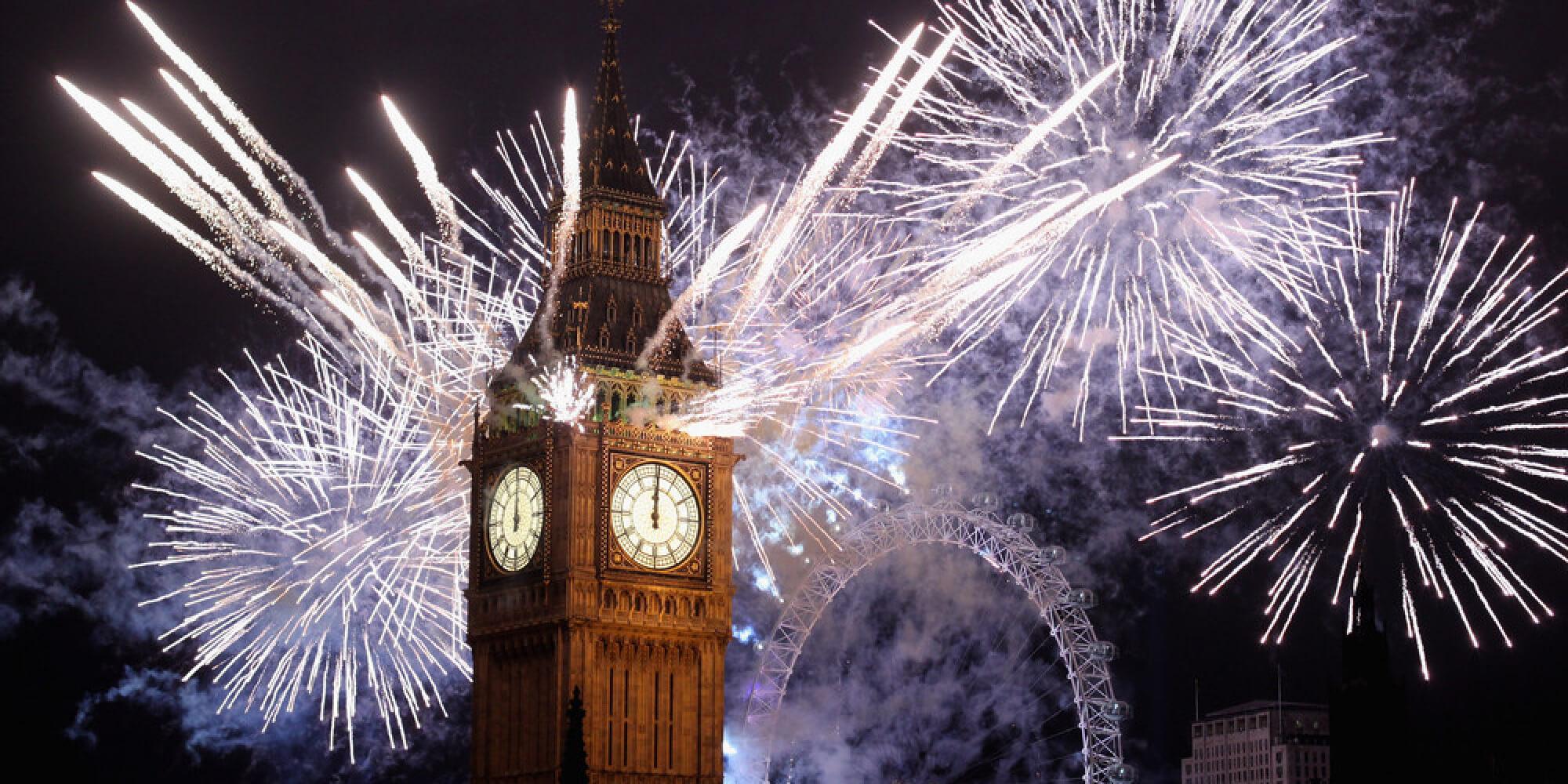 Новогодний салют в лондоне msmstudy