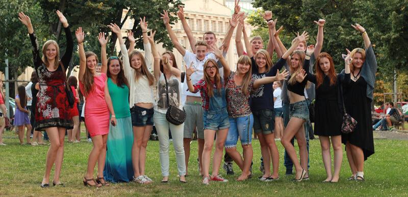 студенты радуются жизни msmstudy