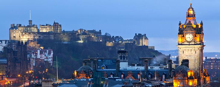 панорама Эдинбурга msmstudy