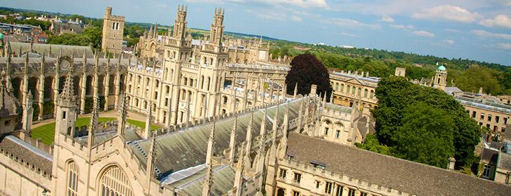 красивое здание в Оксфорде msmstudy