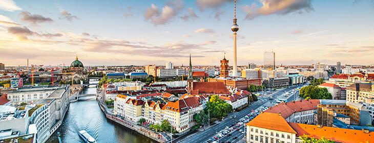 Панорама Берлина msmstudy