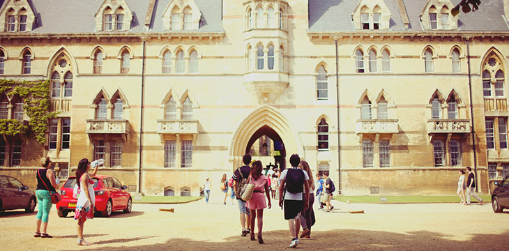 Студенты в Оксфорде msmstudy
