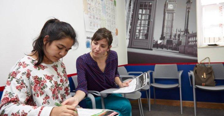 Студенты языковой школы в Лондоне msmstudy