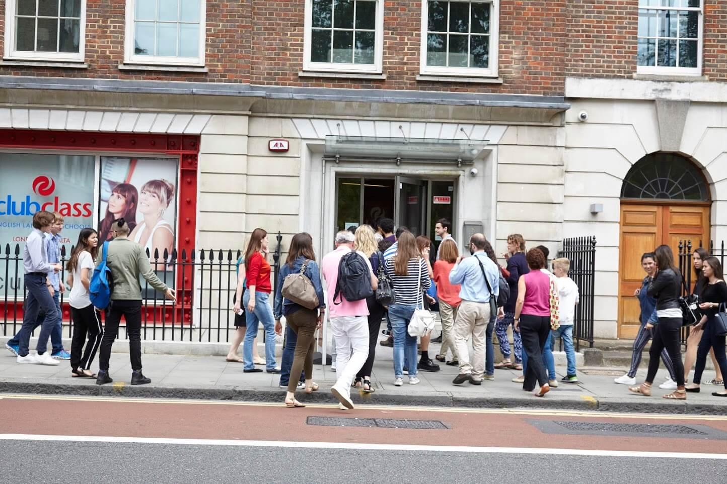 Кампус языковой школы Клубклас в Лондоне msmstudy
