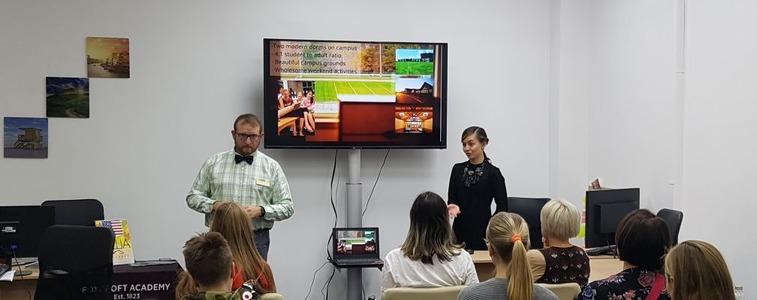 Семинар Foxcroft Academy в Москве msmstudy