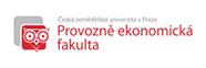логотип provozni fakulta czu msmstudy