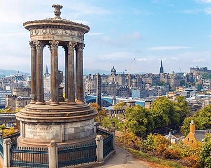 Волшебный Эдинбург — для романтичных
