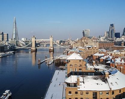 Зимняя поездка в Лондон — для впечатлительных!