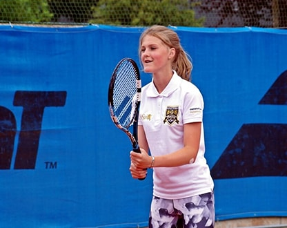 Летний теннисный лагерь в Прагe