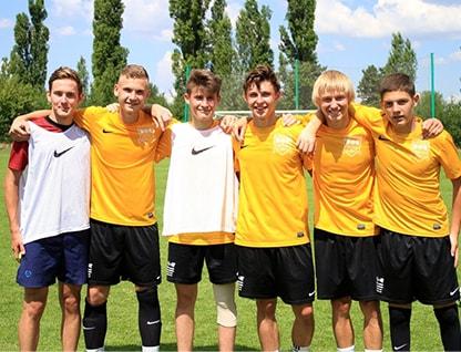 Летний футбольный лагерь в Праге
