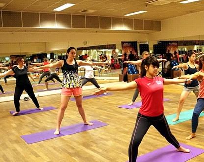 Фитнес-академия в Праге