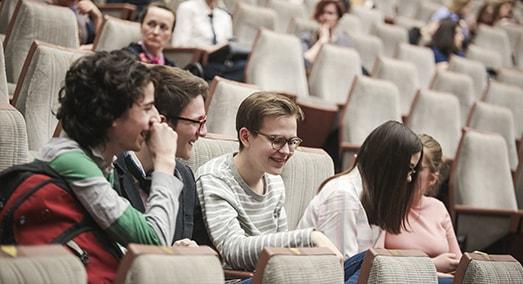студенты МСМ на семинаре об образовании в Чехии msmstudy