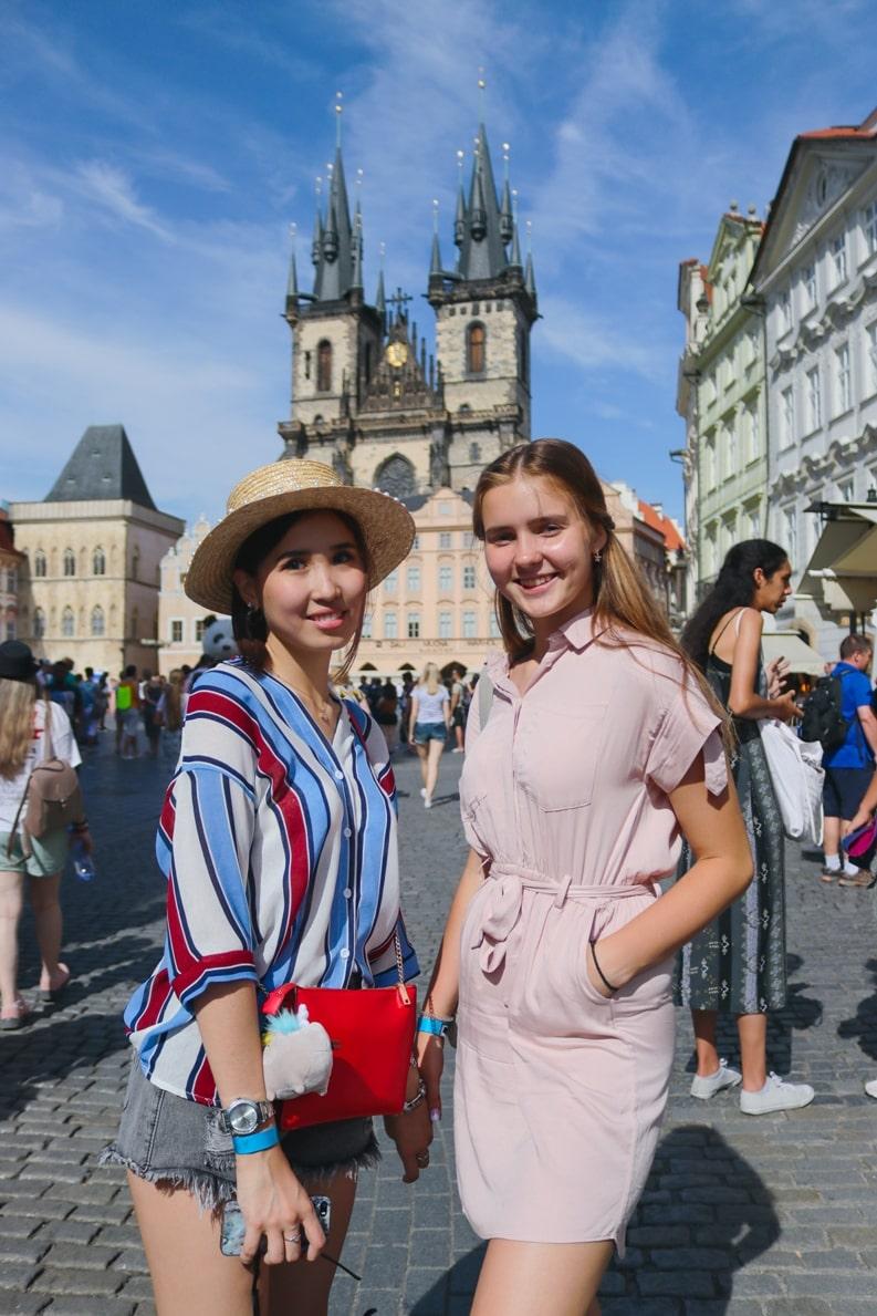 студенты летнего лагеря МСМ msmstudy