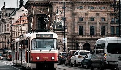 трамвай в праге msmstudy