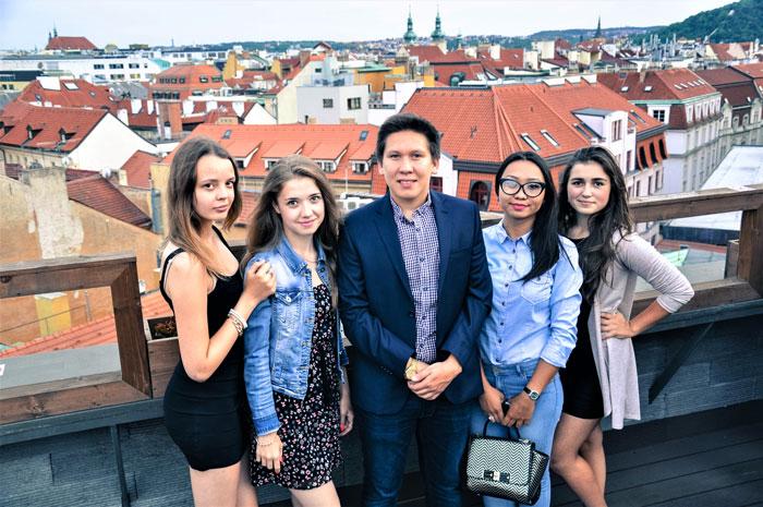летний лагерь английского языка в Праге msmstudy