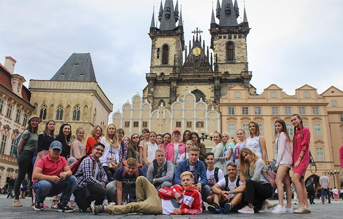Летний языковой лагерь в Праге msmstudy