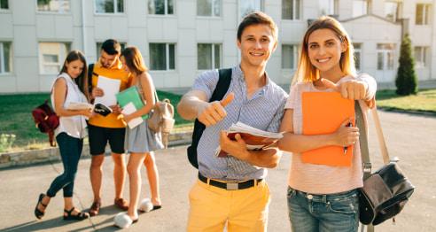 студенты в Словакии