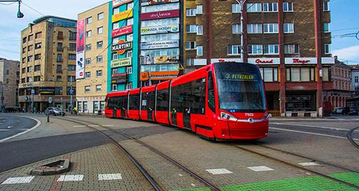 трамвай в словакии